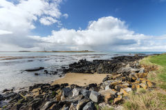 Near Bluff New Zealand the southern mainland point of New Zealan Royalty Free Stock Photo