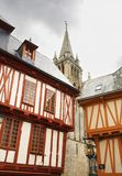 Near the cathedral of Vannes Royalty Free Stock Photo