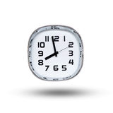 Near eight o'clock. Clock showing near eight o'clock Royalty Free Stock Photo