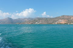 Near Elounda Royalty Free Stock Photography