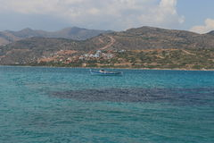 Near Elounda Royalty Free Stock Image