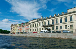 Near the Fontanka river Saint-Petersburg Royalty Free Stock Photo