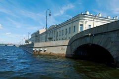 Near the Fontanka river Saint-Petersburg Royalty Free Stock Images