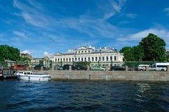 Near the Fontanka river Saint-Petersburg Stock Photography