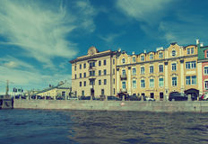 Near the Fontanka river Saint-Petersburg Stock Image