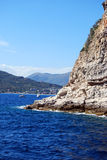 Near Gallinara Island Stock Photography