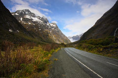 Near Homer Tunnel Royalty Free Stock Image