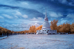 Near Infrared of Holy water tower A place of worship Stock Photography