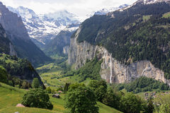 Near Jungfrau, Switzerland Royalty Free Stock Photo
