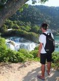 Near Krka waterfalls. royalty free stock photography