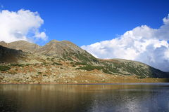 Near the lake. A glacial lake in Retezat mountains, Romania Royalty Free Stock Photography