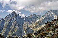Near Lomnicky Peak, Vysoke Tatry Stock Image