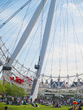 Near London Eye Royalty Free Stock Images
