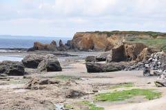 Near Loscolo Beach in Western France Stock Photography