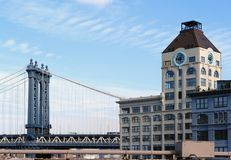 Near Manhattan Bridge Stock Image