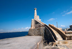 Near Marfa Harbour Malta horizontal Stock Image
