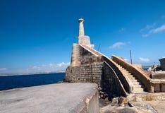 Near Marfa Harbour Malta horizontal Stock Image