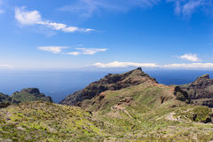 Near Mascxa village at Tenerife Islands casa Stock Images