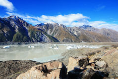 Near Mt Cook Royalty Free Stock Images
