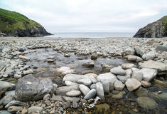 Near Mwnt in south west wales uk Royalty Free Stock Image