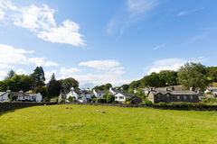 Near Sawrey village by Hawkshead Lake District former home to Beatrix Potter Stock Photos