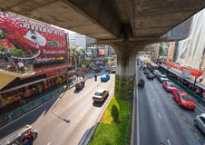 Near Siam metro station, Bangkok Royalty Free Stock Photography