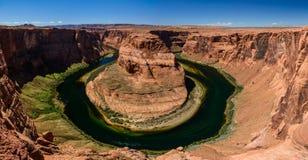 Near sida Arizona för Grand Canyon hästskokrökning Royaltyfri Bild