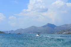 Near Spinalonga Royalty Free Stock Photography
