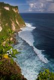 Near Uluwatu Temple. View near Uluwatu Temple in Bali Stock Photos
