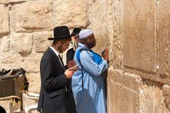 Near Wailing Wall Stock Photos