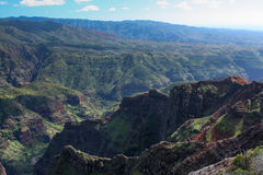 Near Waimea Canyon Stock Image