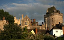 Near Windsor Castle Royalty Free Stock Photography