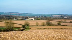 NEAR WITNEY, OXFORDSHIRE/UK - MARCH 24 : Scenic View of the Roll Royalty Free Stock Image