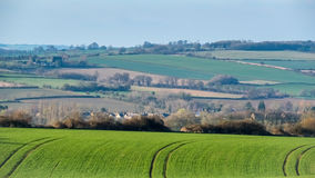 NEAR WITNEY, OXFORDSHIRE/UK - MARCH 24 : Scenic View of the Roll Royalty Free Stock Photography