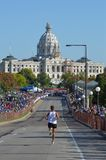 Nearing Finish of 2011 Twin Cities Marathon Stock Images