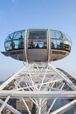 Nearing the top of the London Eye Royalty Free Stock Photography