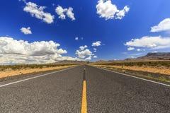 NearLittlefield sans fin de la route 91 Photographie stock libre de droits