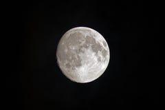 Nearly full moon Stock Photo