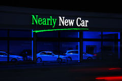 Nearly New Car Stock Photos