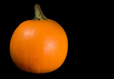 Nearly Perfect Pumpkin Royalty Free Stock Images
