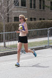 Nearly 30000 runners participated in the Boston Marathon on April 17, 2017 in Boston Royalty Free Stock Photo