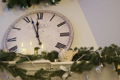Nearly Twelve O`clock Midnight Royalty Free Stock Images