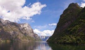 Nearofjord da balsa fotografia de stock royalty free
