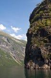 Nearofjord dal traghetto Immagini Stock