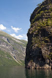 Nearofjord de bac images stock