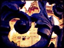 Neasden-Tempel Lizenzfreies Stockfoto