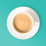 Neat coffee cup Royalty Free Stock Image