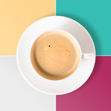 Neat coffee cup Royalty Free Stock Photography