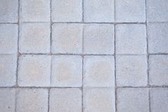 Neat Grey OCD Paving Stones stock photo