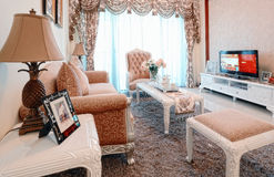 Neat living room. Eastphoto, tukuchina, Neat living room Royalty Free Stock Image